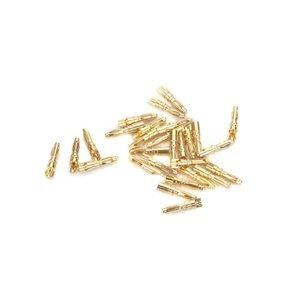 E Flite . EFL GOLD BULLET CONNECTOR, 2MM MALE (30)