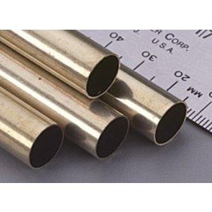 K&S Engineering . KSE Round Brass Tube 7/16 X 12''