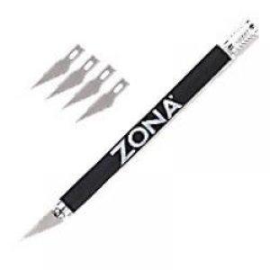 Zona Tool Company . ZON Knife Soft Grip W/4 Blds