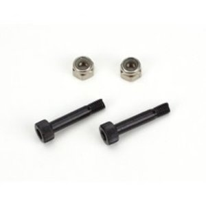 Blade . BLH MAIN ROTOR BLADE MOUNTING SCREW & NUT SET (2) B450