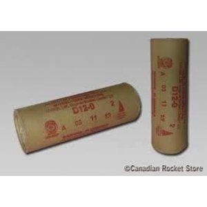 Estes Rockets . EST D12-0 Model Rocket Engines (2)