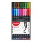 Maped . MPD Graph Peps Felt Tips Pens Pack of 20 Colouring Art Calgary