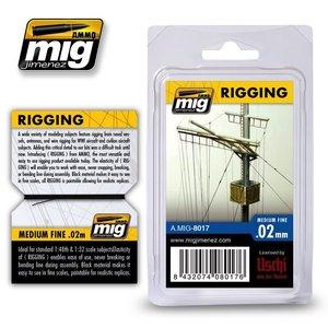 Ammo of MIG . MGA RIGGING MEDIUM FINE 0.02MM