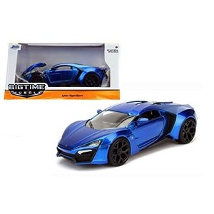 Jada Toys . JAD 1/24 Lykan Hypersport Blu