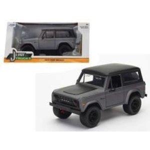 Jada Toys . JAD 1/24 73 BRONCO CHAR GREY