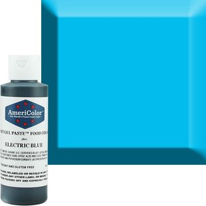 AmericaColor . AME AmeriColor 4.5oz Soft Gel – Electric Blue