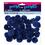 "Darice . DAR Pom Poms - Royal Blue 1"" (2.54 cm) 40 pcs"