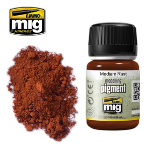 Ammo of MIG . MGA Medium Rust Pigment