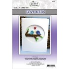 Quilled Creations . QUI Quill-A-Card: Love Birds Kit