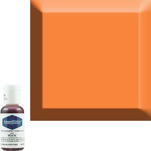 AmericaColor . AME (DISC) - AmeriColor .75oz Soft Gel – Peach