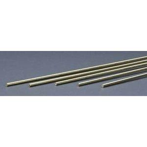 "K&S Engineering . K+S Solid Brass Rod 1/8 X 36"""