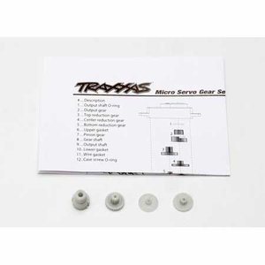Traxxas Corp . TRA GEAR SET FOR 2080 MICRO WATER