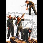 Tamiya America Inc. . TAM 1/35 German Tank Ammo Crew