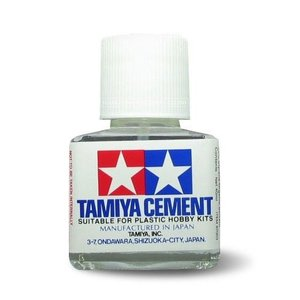 Tamiya America Inc. . TAM Liquid Cement 40Ml