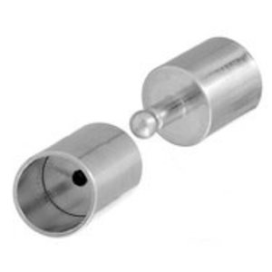 John Bead Corporation . JBC Plug-in Clasp 18 mm Silver Lf/Nf