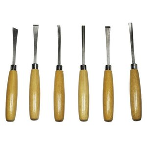 Excel Hobby Blade Corp. . EXL BEGINNERS 6 PIECE WOODCARVING SET