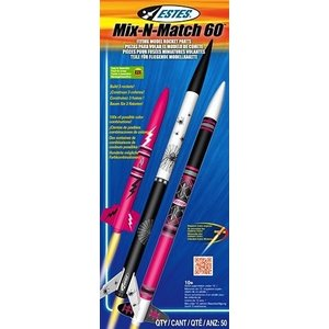 Estes Rockets . EST Mix-N-Match 60 Kit (3)