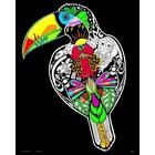 Stuff To Color . SFC 16X20 Velvet Poster Inner Nature Toucan