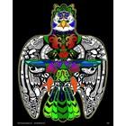 Stuff To Color . SFC 16X20 Velvet Poster Inner Nature Thunder Bird Colourable Symbol Calgary