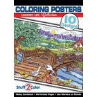 Stuff To Color . SFC Line Art Country Life Nature Animals Mountains Calgary