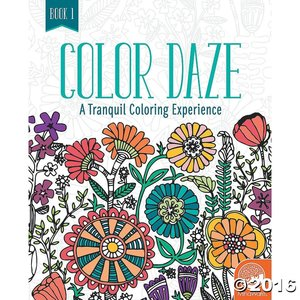 MindWare . MIW Color Daze Tranquil Coloring Experience - Book 1