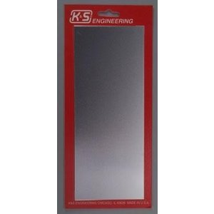 K&S Engineering . K+S Tin Sheet .013 6x12