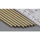 "K&S Engineering . K+S Solid Brass Rod 5/32 X 12"""