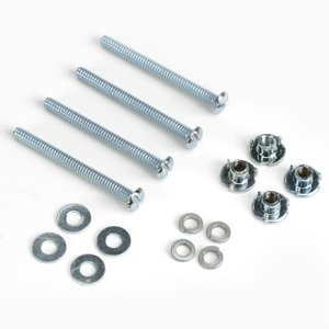 Du Bro Products . DUB Mtg Bolts & Blind Nuts 4-40X1