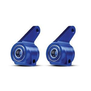 Traxxas Corp . TRA Alum Steering Blocks Bl(4)