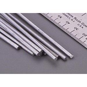 """K&S Engineering . K+S Solid Alum Rod 12""""X 1/8"""