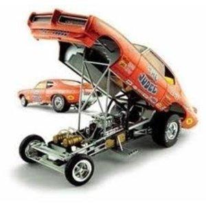American Muscle Diecast . AMD 1/18 PONTIAC GTO '69 FUNNY CAR