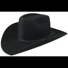 "Darice . DAR Black Cowboy Hat w/ Rope Trim 2"""