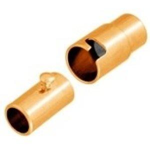 John Bead Corporation . JBC Magnetic Clasp 15 mm Gold Lf/Nf