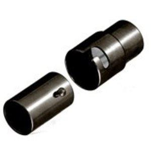 John Bead Corporation . JBC Magnetic Clasp 15 mm Gunmetal Lf/Nf Twist