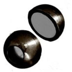 John Bead Corporation . JBC Magnetic Clasp Ball 13 mm Gunmetal