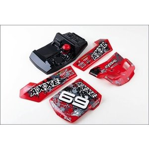 Kyosho . KYO OUTER PANEL SET RED