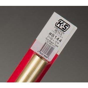 K&S Engineering . K+S RD BR TUBE 21/32X.014