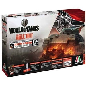 Italeri . ITA 1/56 WORLD OF TANKS PANTHER