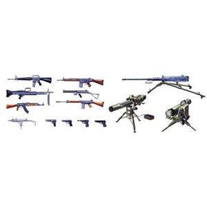 Italeri . ITA 1/35 Modern Light Weapon