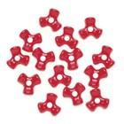 Darice . DAR Tri Beads - Opaque Red 480Pc