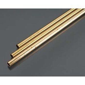 K&S Engineering . K+S ROUND BRASS TUBE 3/8