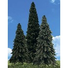 """Woodland Scenics . WOO Forever Green Trees 3.5""""- 5.5"""""""