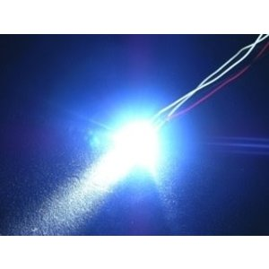 3 Racing . 3RC 3mm Flash Led Lghts Blue