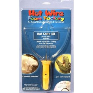 Hot Wire Foam Factory . HWR Hot Knife W/Power Supply