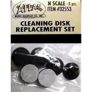 Atlas Model Railroad Co . ATL CLEANING DISK REPLACEMENT