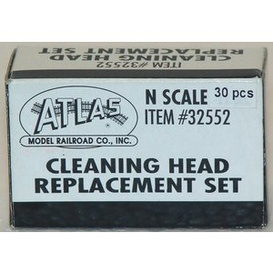 Atlas Model Railroad Co . ATL CLEANING HEAD REPLACEMENT