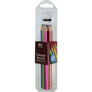 Art Advantage . ART 18 Colored Pencil Set with Sharpener