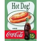 Desperate Enterprises . DPE Hot Dog & Cola Sign