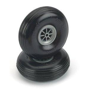 "Du Bro Products . DUB Treaded Lite Wheels 3-1/4"""""