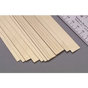 "K&S Engineering . K+S Brass Strips 12""X.016 X 1/2"